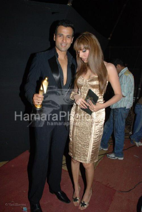 Rohit Roy at Sansui TV Awards on 29th 2008 shown to user